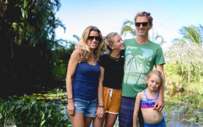 Une famille d'aventuriers à Hawaii