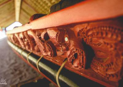 Waka- canoe de guerre maori-2