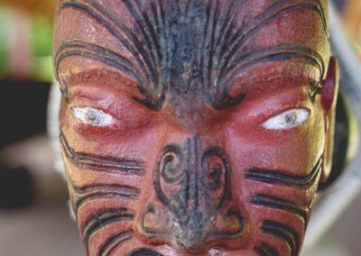 Tauihu, proue de canoë de guerre Maori-1