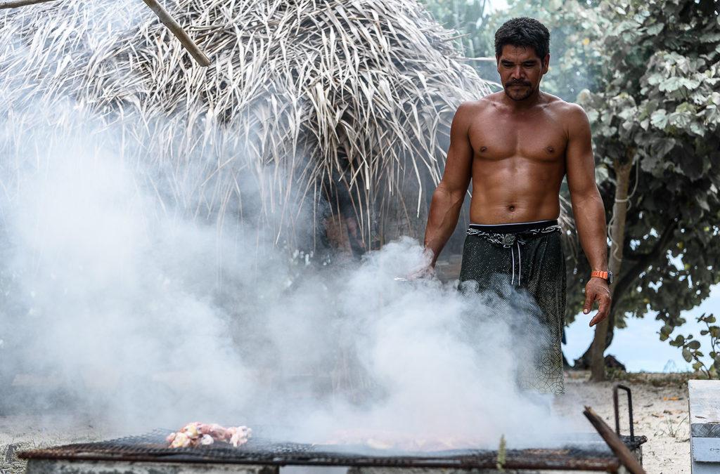 Repas à Maupiti