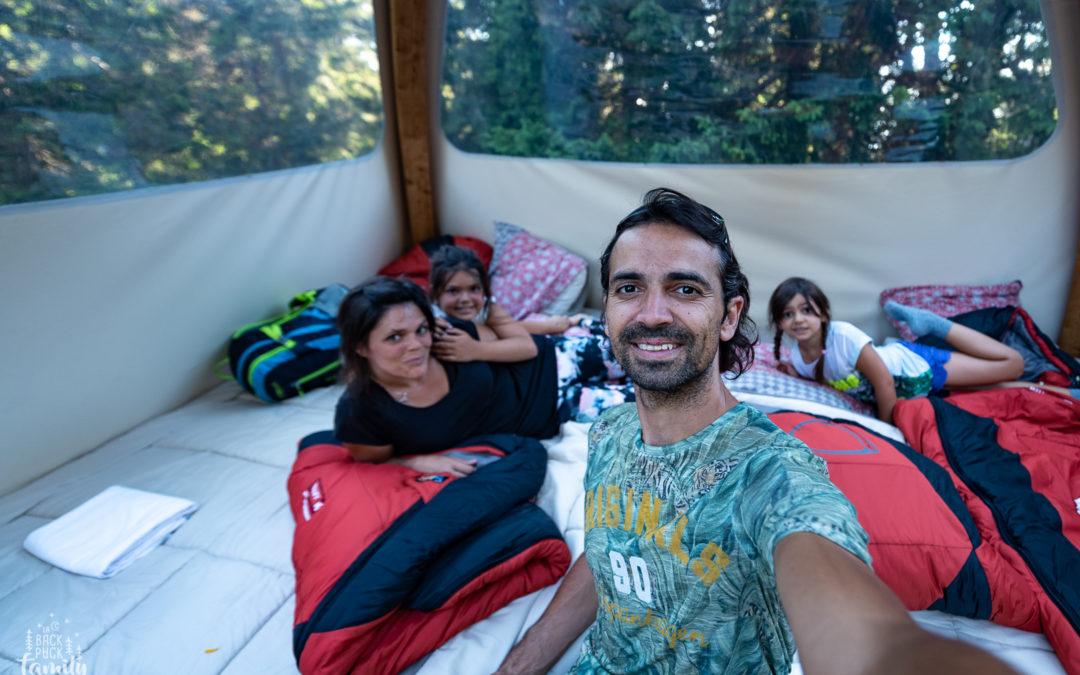 Un pur Bonheur en famille avec Alpes bivouac